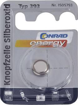 Knappcell 393 Silveroxid Conrad energy SR48 80 mAh 1.55 V 1 st