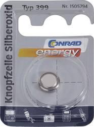 Knappcell 399 Silveroxid Conrad energy SR57 53 mAh 1.55 V 1 st