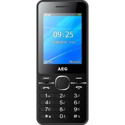 Mobiltelefon AEG M1250 2.4  Sort