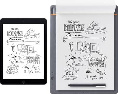 Wacom Bamboo Slate Large Electronic notebook Live streaming Grey