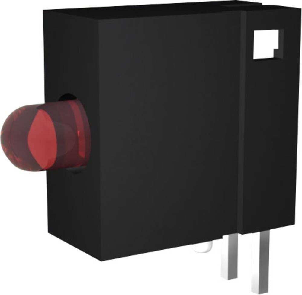 LED-komponent Signal Construct DVCD 11 (B x H x T) 6 x 10 x 10 mm Enkel Gul