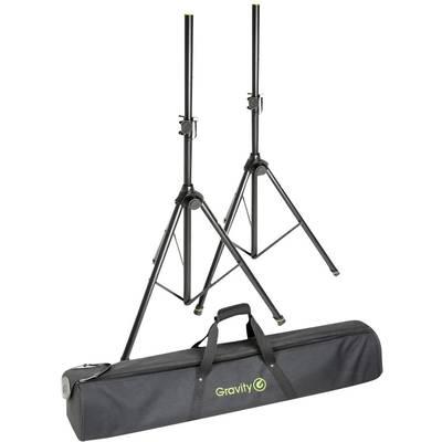 Gravity SS 5211 B SET 1 PA speaker stand set Telescopic, Height-adjustable 1 pc(s)
