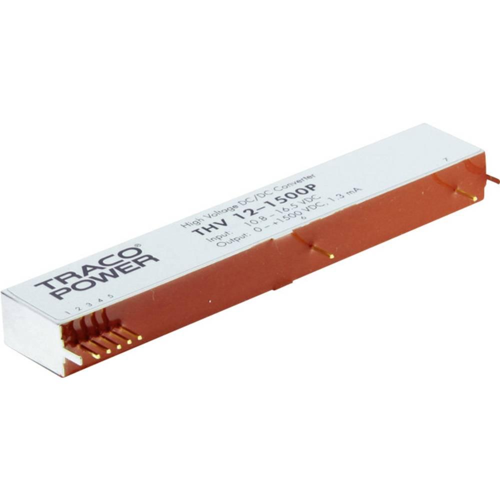 DC/DC pretvornik za tiskano vezje TracoPower THV 12-1000P 12 V/DC 2 mA 2 W št. izhodov: 1 x