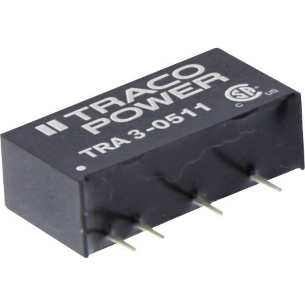 DC/DC pretvornik za tiskano vezje TracoPower TRA 3-1213 12 V/DC 200 mA 3 W št. izhodov: 1 x