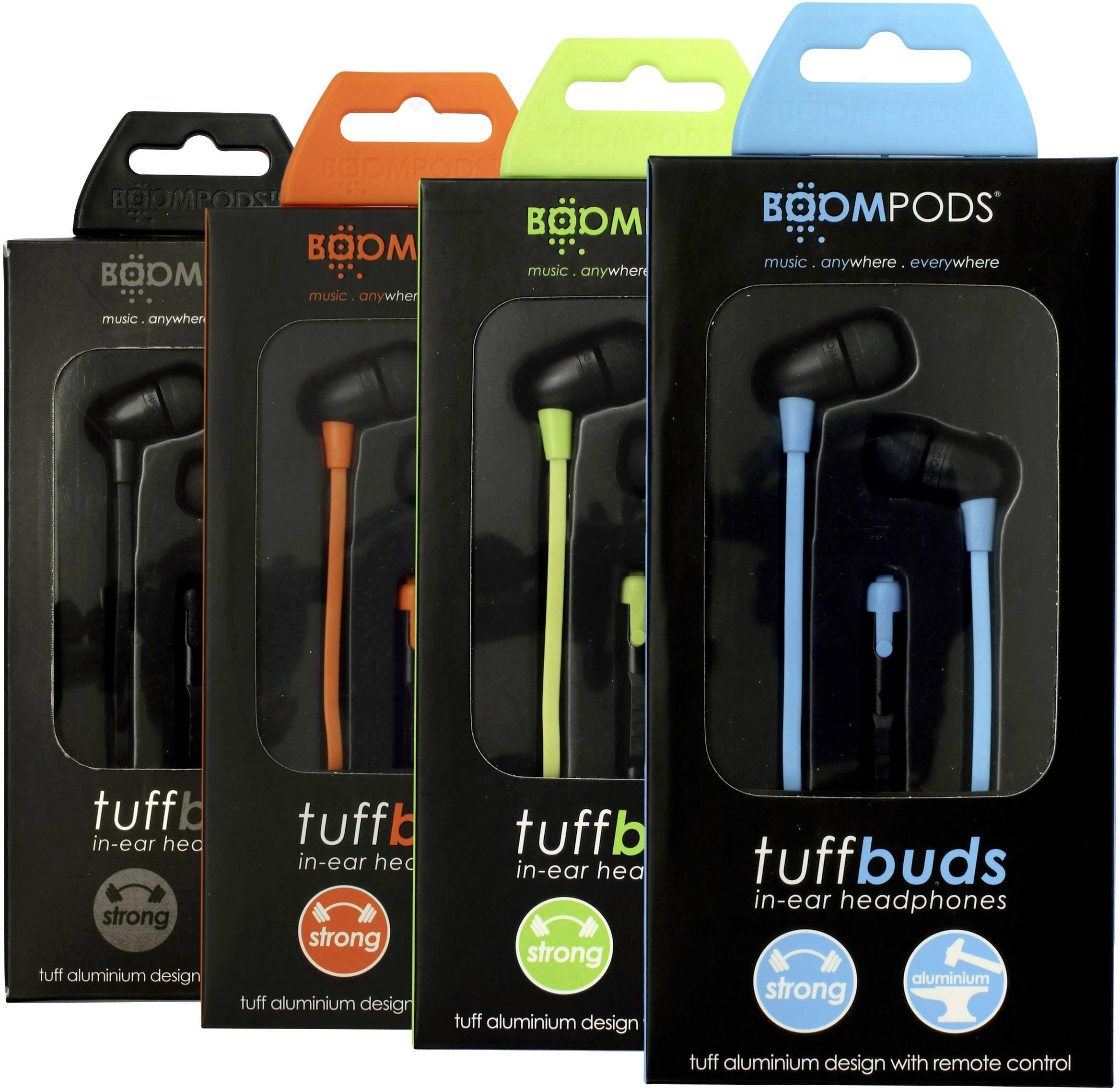 Boompods Tuffbuds Headphones In-ear Headset Orange 316a96041f3f5