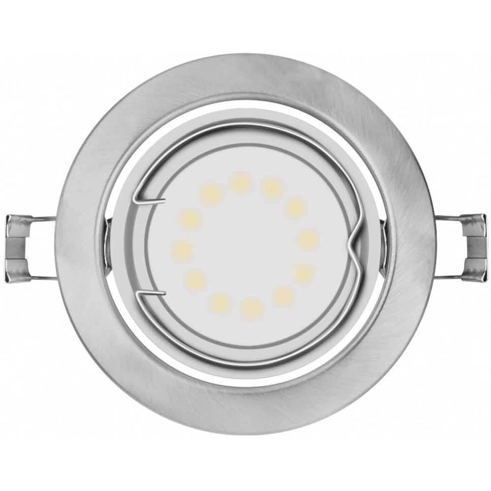 Inbyggnadsbelysning OSRAM LED Downlight 3x3W grå inkl. GU10 GU10 9 W Silver