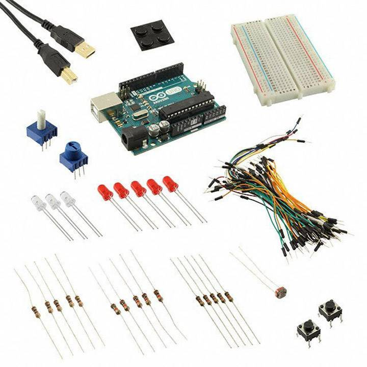 Starter kit Budget Pack for Arduino™ (Arduino™ Uno R3) - Uno