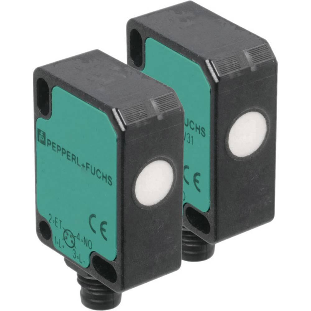 Ultrazvučni jednosmjerni senzor za izravnu detekciju u minijaturnom dizajnu Pepperl & Fuchs UBE800-F77-SE2-V31 (D x Š x V) 40 x