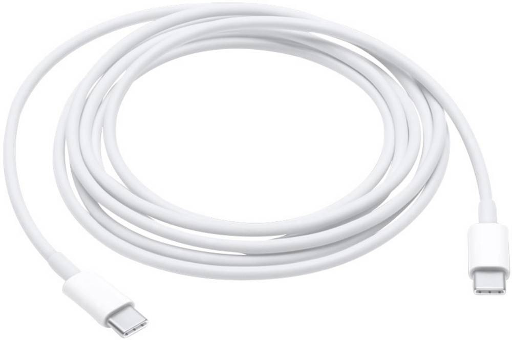 iPad/iPhone/iPod podatkovni/napajalni kabel [1x USB-C™ vtič - 1x USB-C™ vtič] 2 m beli, Apple