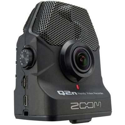Portable audio recorder Zoom Q2n Black