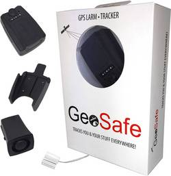 GPS Tracker GeoSafe Multifunktionstracker Sort
