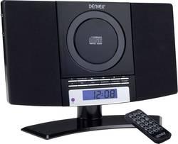 Stereoanlæg Denver MC-5220 AUX, CD, FM, Vægmontering Sort