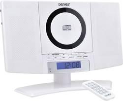 Stereoanlæg Denver MC-5220 AUX, CD, FM, Vægmontering Hvid