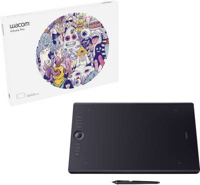 Wacom Intuos Pro L Pen tablet Black