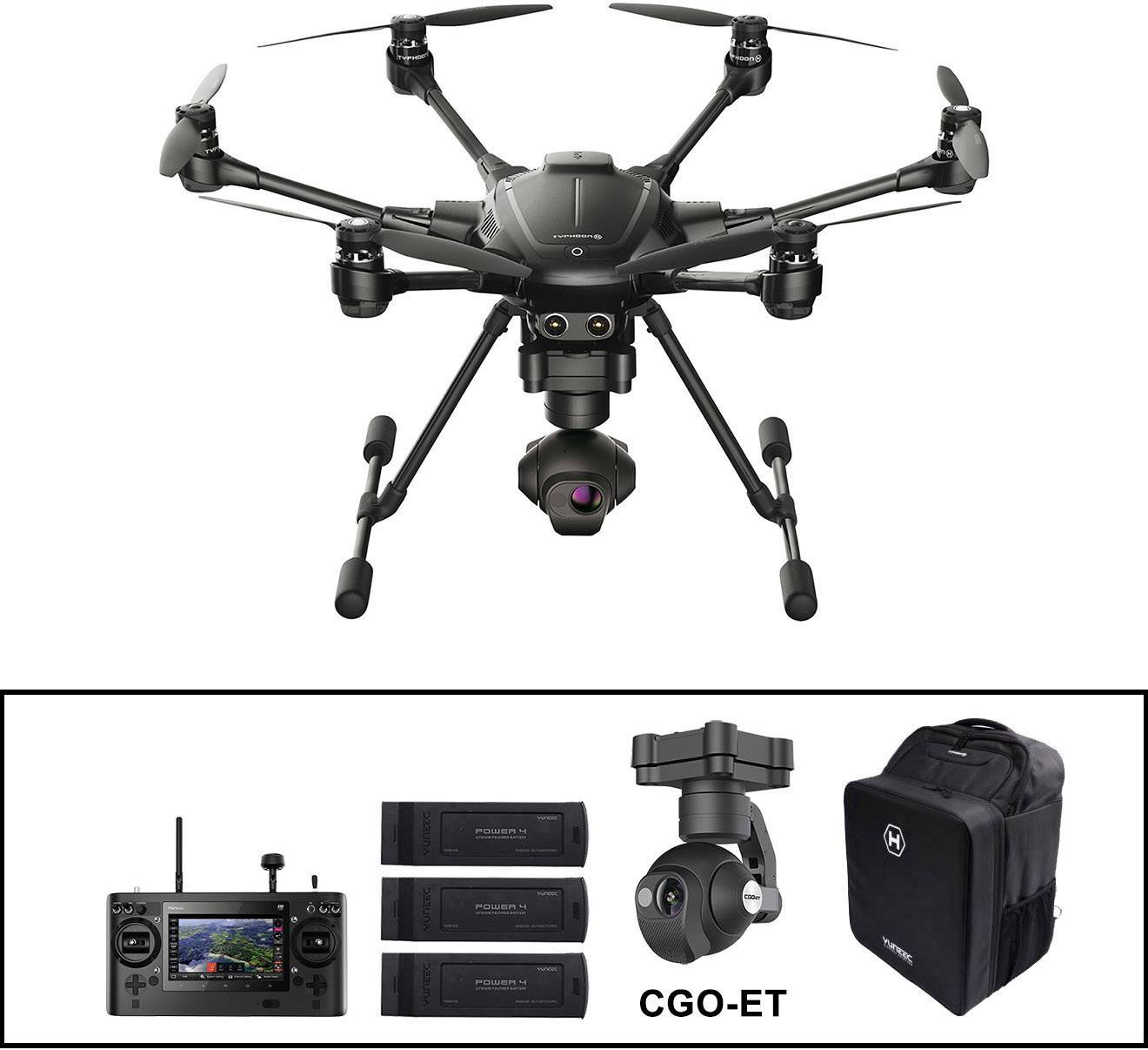 Yuneec Typhoon H Thermal Set + CGO-ET Industrial drone RtF