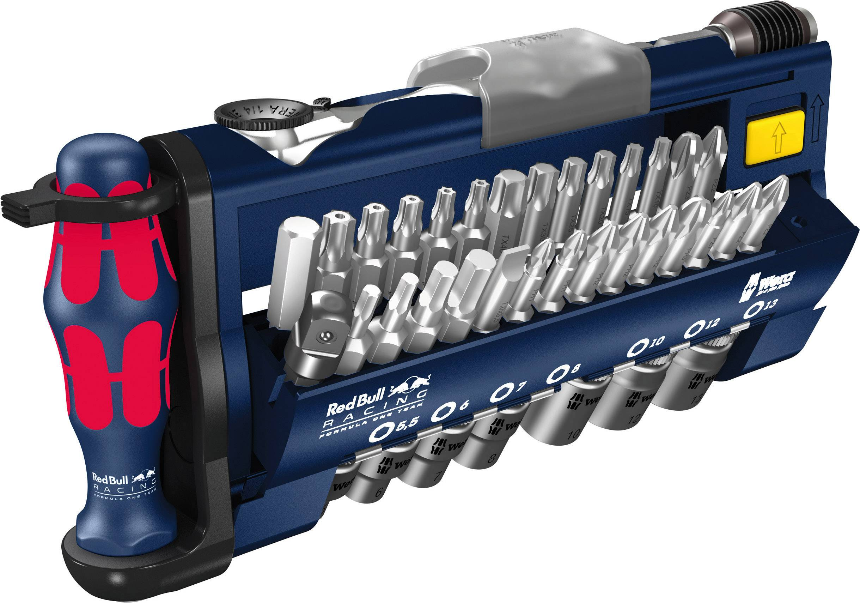 Bit set 39-piece Wera Tool-Check PLUS Red Bull Racing