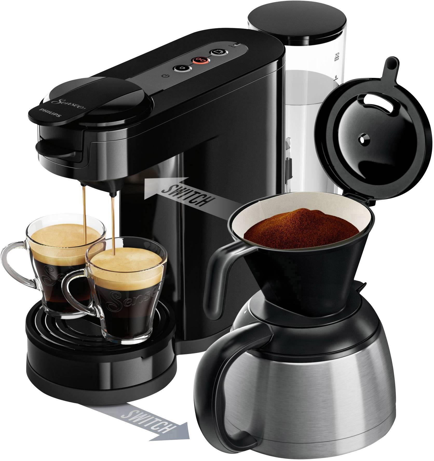 Senseo Switch Hd789260 Hd789260 Pod Coffee Machine Black