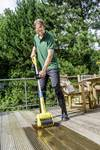 Battery broom and surface cleaner