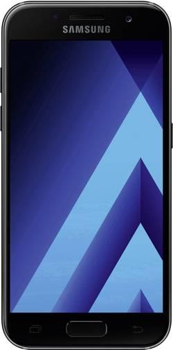 LTE-smartphone 4.7  Samsung Galaxy A3 (2017) 16 GB Sort