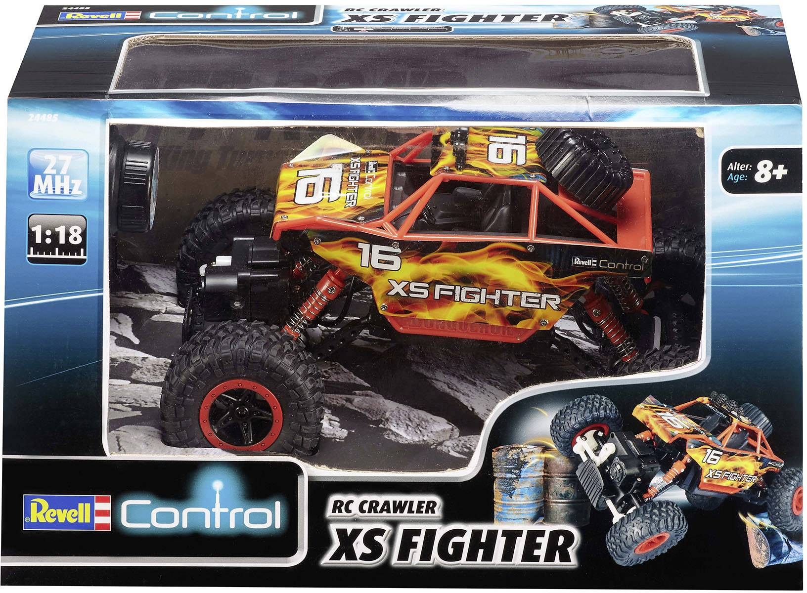 Revell Control 24485 Crawler XS Fighter |