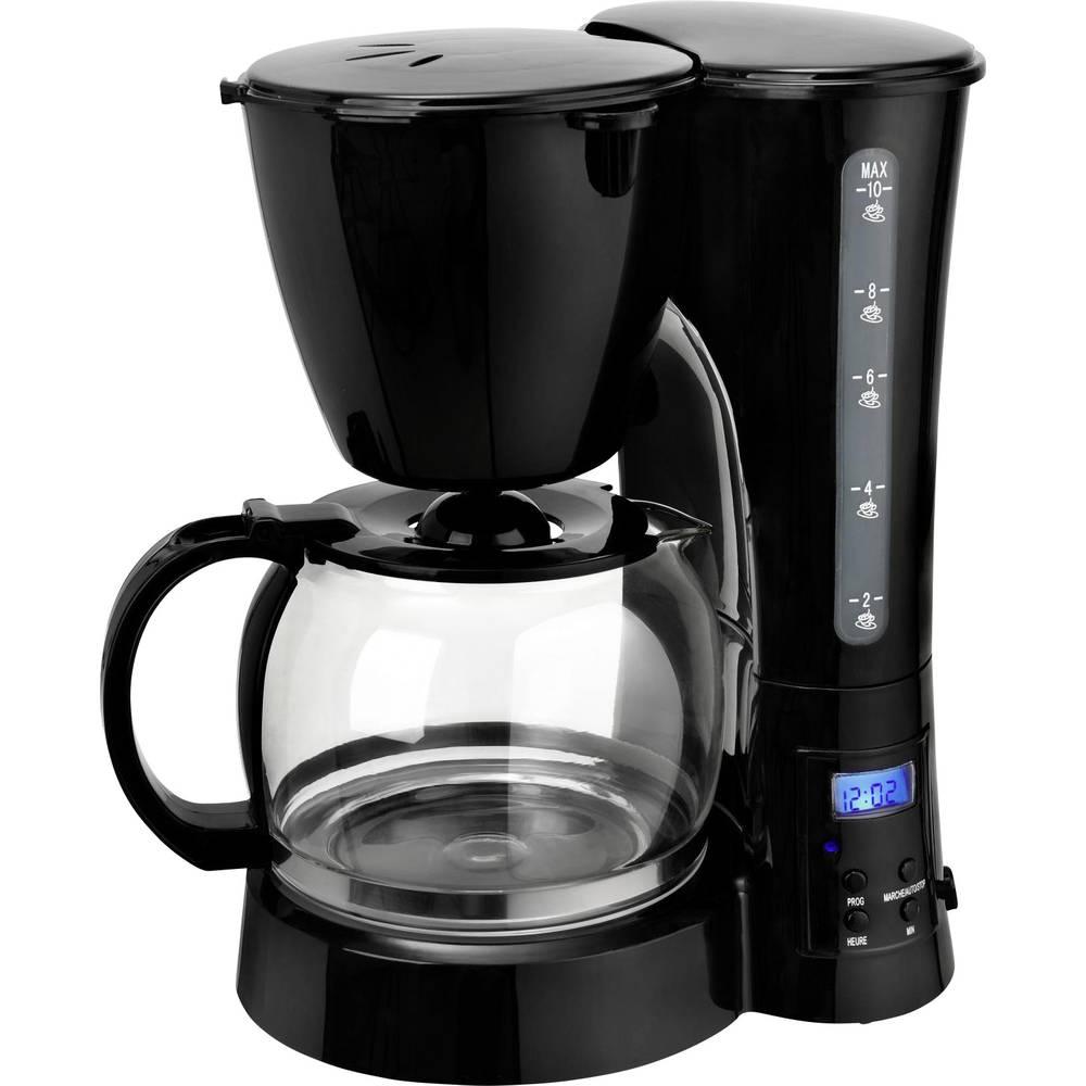 Coffee maker TKG Team Kalorik TKG CM 1017 BT Black Cup volume=10 Display,
