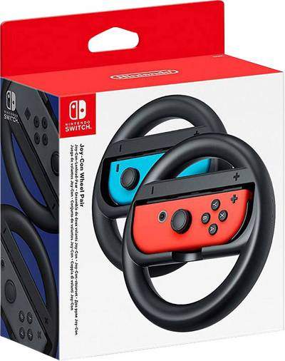 Image of Nintendo Joy-Con Weel Steering wheel Nintendo Switch Black