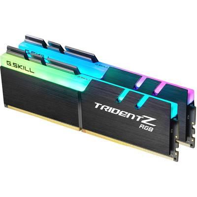 G.Skill PC RAM kit TridentZ RGB F4-3600C17D-32GTZR 32 GB 2 x 16 GB DDR4 RAM 3600 MHz CL17-19-19-39