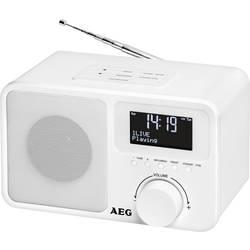 DAB+ Bordradio AEG DAB+ 4154 Hvid