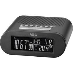 FM Vækkeur med radio AEG MRC 4145 F FM Sort