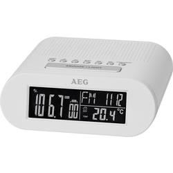 FM Vækkeur med radio AEG MRC 4145 F FM Hvid