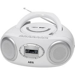 DAB+ CD-radio AEG SR 4370 Hvid