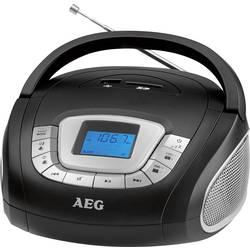 FM Bærbar radio AEG SR 4373 SD, USB, FM, AUX Sort