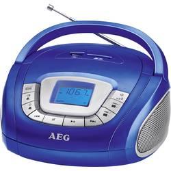 FM Bærbar radio AEG SR 4373 SD, USB, FM, AUX Blå