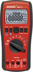 Hånd-multimeter digital Benning MM 12 ISO CAT IV 600 V, CAT III 1000 V