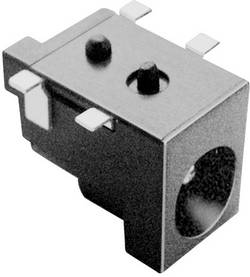 Lavspændingsstik Tilslutning, indbygning vandret 6.5 mm 2.5 mm BKL Electronic 1 stk
