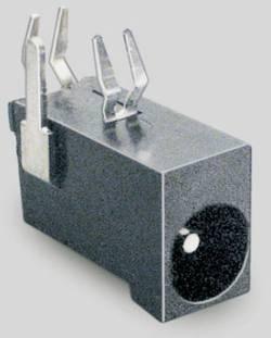 Lavspændingsstik Tilslutning, indbygning vandret 4.5 mm 1.3 mm BKL Electronic 1 stk
