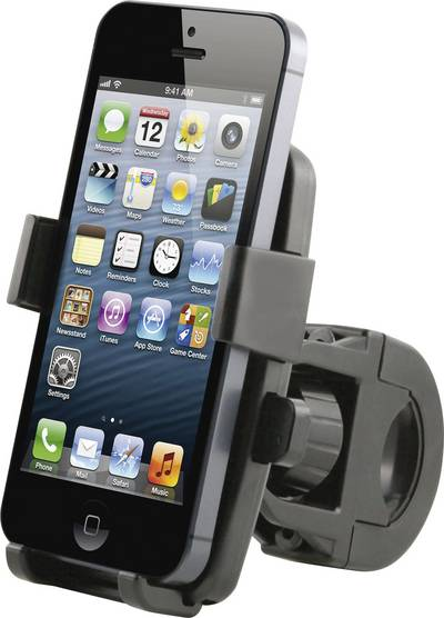 Bike phone mount Basetech Compatible with (mobile phones): Universal