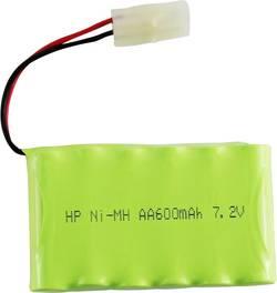 RC Batteripack (NiMh) 7.2 V 600 mAh Antal celler: 6 Conrad energy Sida vid sida Tamiya stickpropp
