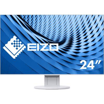 Image of EIZO EV2451-WT blanc LCD 60.5 cm (23.8 inch) 1920 x 1080 p Full HD 5 ms DisplayPort, DVI, HDMI™, VGA, Audio stereo (3.5 mm jack), USB 3.2 Gen 1 (USB 3.0)