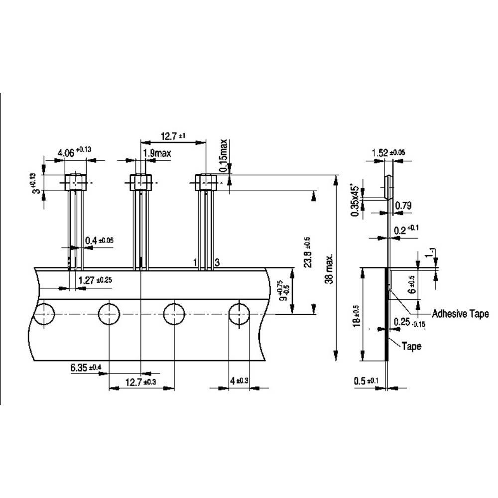 Infineon Technologies Hall Effect Sensor Tle 4945 L 35 24 Vdc Diagram Reading Range 6 10 Mt Psso 3 2 Soldering