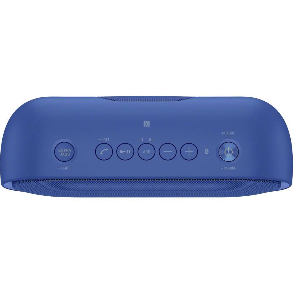 Sony SRS-XB20 Bluetooth speaker Aux, spray-proof Blue from Conrad.com