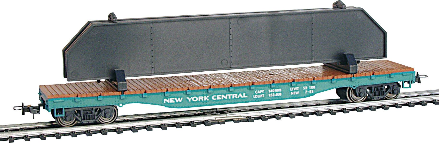 PRR FLAT CAR WITH CONTAINER Mehano H0 scale T115