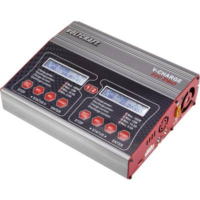 VOLTCRAFT V-Charge 200 Duo Scale model multifunction charger 12 V, 230 V 10 A Lead-acid, NiMH, NiCd, LiPolymer, Li-ion, LiHV, Lead-acid calcium