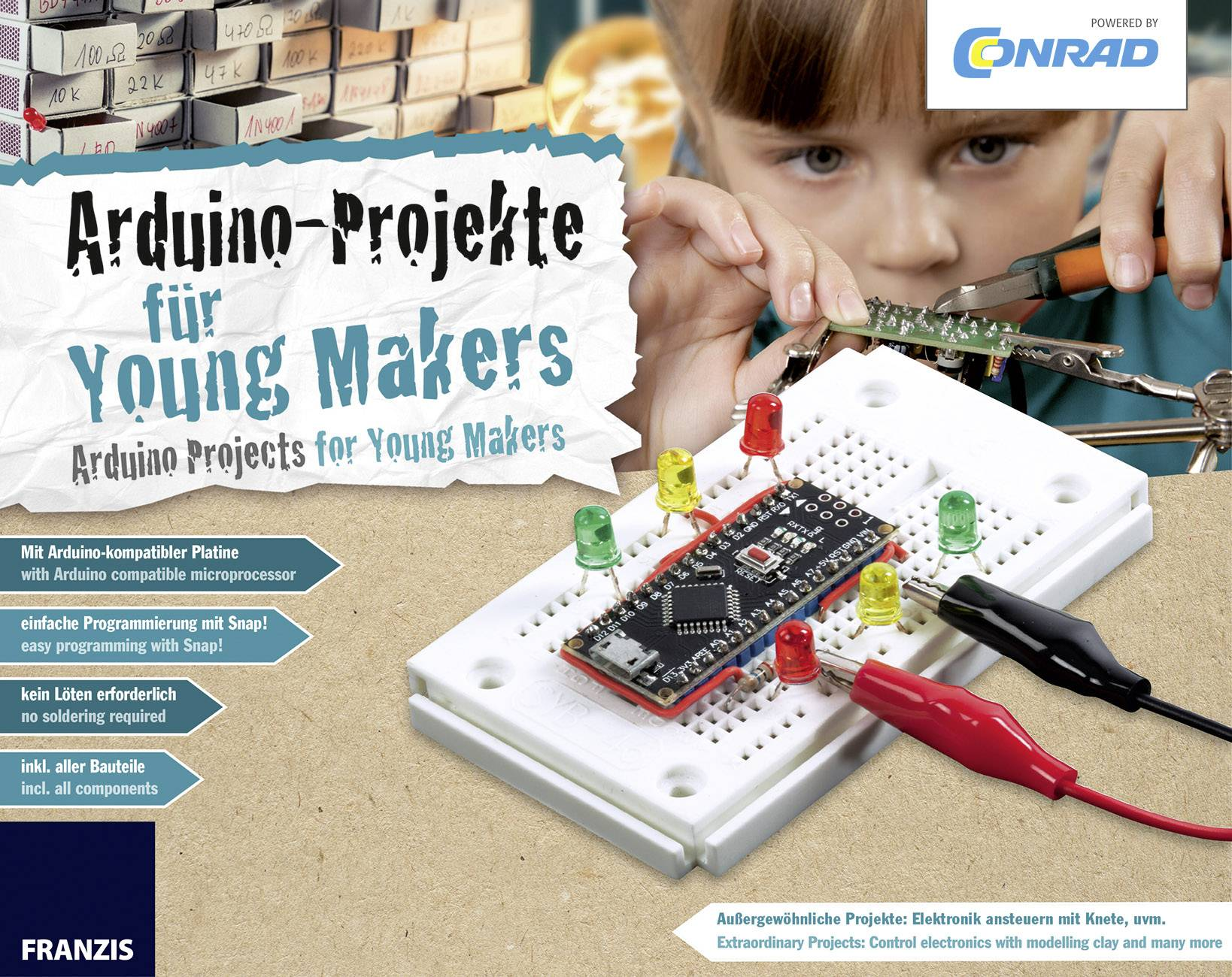 Maker kit Conrad Components Conrad Arduino für Young Makers