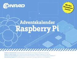 Adventskalender Conrad Components Raspberry Pi Adventskalender Expriment från 14 år