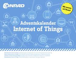 Adventskalender Conrad Components Internet of Things Expriment, Byggsats från 14 år