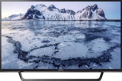 Image of Sony KDL40WE665 LED TV 101 cm 40 EEC A+ (A++ - E) DVB-T2, DVB-C, DVB-S, Full HD, Smart TV, WLAN, CI+ Black