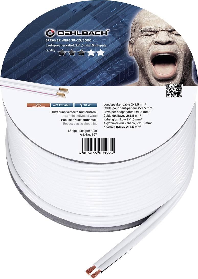 Oehlbach Speaker Wire Sp 15 Cable De Haut Parleur Cables Et Jacks Cables Pour Haut Parleur