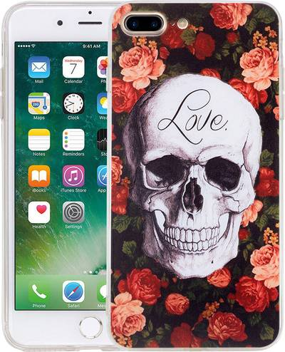 Image of Perlecom iPhone back cover Compatible with (mobile phones): Apple iPhone 7 Plus,