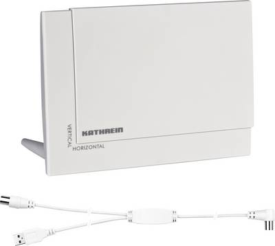 Image of Kathrein BZD 32 DVB-T/T2 active planar antenna Indoors Amplification=18 dB White